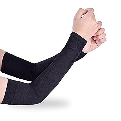 Efanr Sports Icy Cooling Arm Sleeves Sunscreen Cuff UV Sun Protective Arm Cover Gloves Skin Protection for Women Men Outdoor Activities Riding Cycling Driving - Machine Spreader Bar
