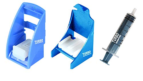 TURBO Ink Cartridge Refill Kit Ink Suction Tool Compatible for HP 901 703 704 678 46 680 802 803 Cartridges