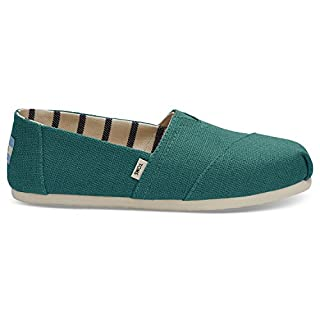 TOMS Teal Heritage Canvas Women's Classics 10012642 (Size: 9.5) (B078HQXG51)   Amazon price tracker / tracking, Amazon price history charts, Amazon price watches, Amazon price drop alerts