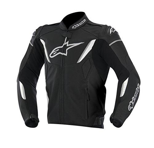 ALPINESTARS GP-R Jacket Leather Black/Yellow/White 2X-Large