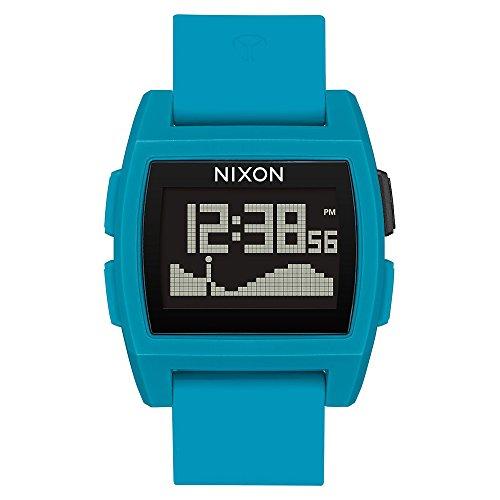 New Nixon Base Tide Digital Watch Blue Resin