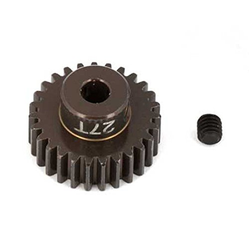 Team Associated 1345 Factory Aluminum 27T 48P 1/8 Shaft Pinion Gear