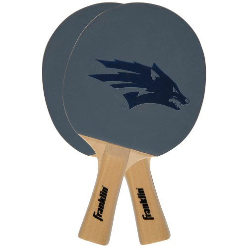 Franklin Sports NCAA Nevada Wolfpack Collegiate Table Tennis Paddle Set
