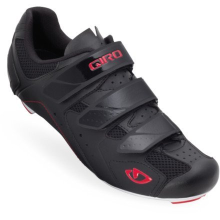 Giro 2013 Mens Treble Road Bike Shoes (Black/White/Red - 44) Cycling, Bike, Bicycle, Cycle, Bicycling
