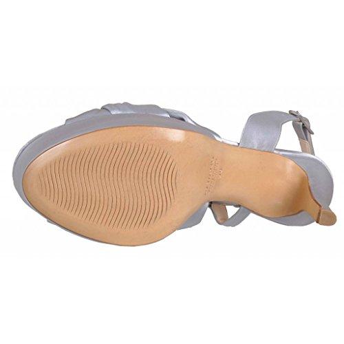 3205 Si Marca Argento Vestono Albano Donne Donne I Modello Sandali Sandali Colore Vestono I Argento qAOYxwZ