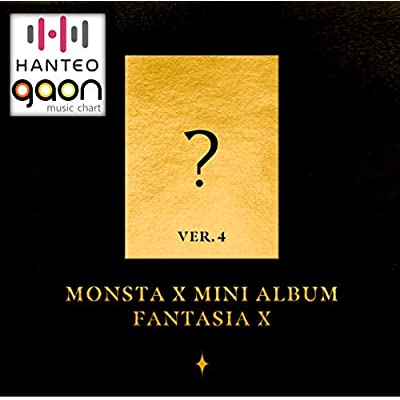 Monsta X - Fantasia X [Ver. 4] (Mini Album) [Pre Order] CD+Photobook+Folded Poster+Pre Order Benefit+Others with Extra Decorative Sticker Set, Photocard Set: Arts, Crafts & Sewing