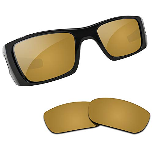 Bronze Polarized Accessories - Kygear Replacement Lenses Different Colors for Oakley Fuel Cell Sunglass Polarized (Antique Bronze - Polarized)