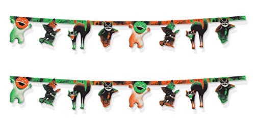 Beistle 00431 Vintage Halloween Streamers 2 Piece, 10