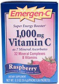 Emergen-C Raspberry 30 Packets