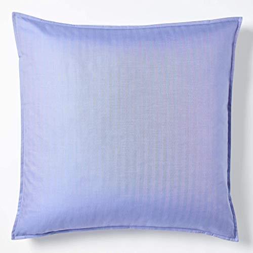 (Robert Graham Home Herringbone Iris Italian Percale Woven with Extra-Fine Long Staple Cotton Euro Pillow Sham (Euro))