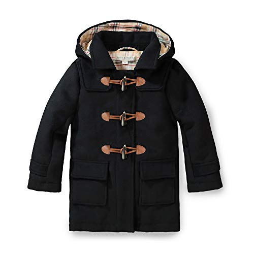 Hope & Henry Unisex Kids Toggle Duffle Coat Black