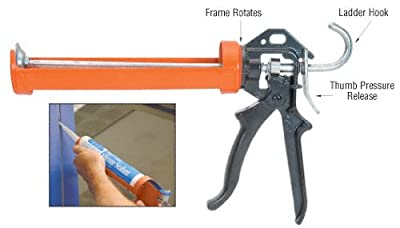 12:1 Ratio Strap Frame Caulking Gun