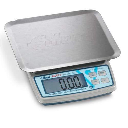 Edlund BRV-160 OP 10 Pound Digital Portion Scale w/Oversized Platform by Edlund
