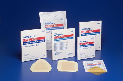 ULTEC Pro Alginate Hydrocolloid Border Dressings 4