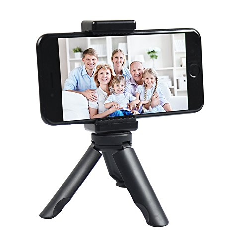 Smartphone Selfie Tabletop Tripod Flexible Phone Tripod Portable tripod SHIHONG Adjustable Mini Travel Tripod Mount Gimbal Tripod Stand for iPhone and Small Camera