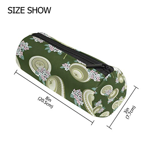 Japanese Umbrella Pencil Case Makeup Bag Pen Pouch Durable Students Stationery Holder School Office]()