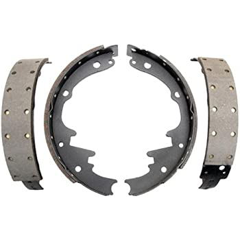 ACDelco 17169R Professional Riveted Rear Drum Brake Shoe Set