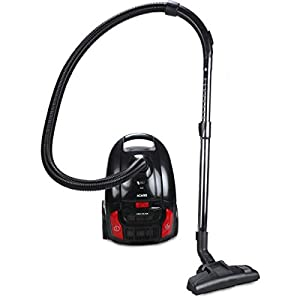 AGARO Regent 1600-Watts Dry Vacuum Cleaner with 20 kPa Suction Power,3 litres dust Bag, Variable Power Settings (Black)