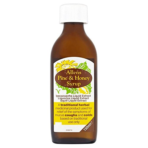 Allens Pine & Honey Balsam Cough Syrup (150ml) - Pack of 2