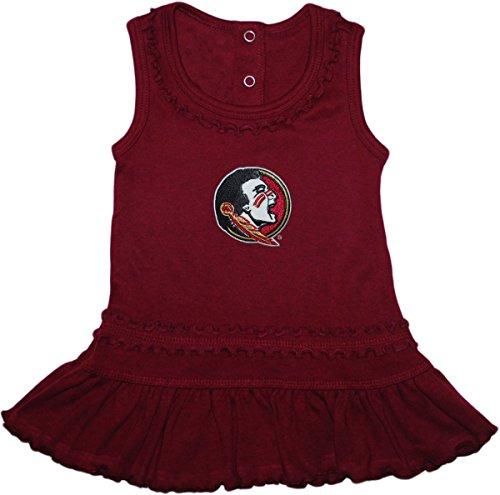 - Florida State University FSU Seminoles Ruffled Tank Top Dress with Bloomer Set
