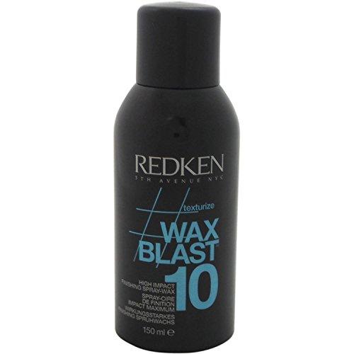 Redken Wax Blast 10 High Impact Finishing Spray Wax, 4.4 Ounce by Redken (Redken Wax Blast)