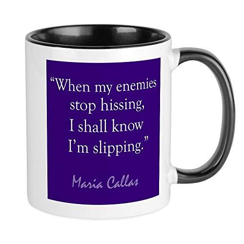 CafePress Maria Callas Diva Mug Unique Coffee Mug, Coffee Cup