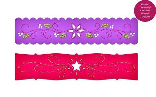 (Spellbinders Borderabilities Petite Dies 5-1/2-Inch, Poinsettia & Stars)