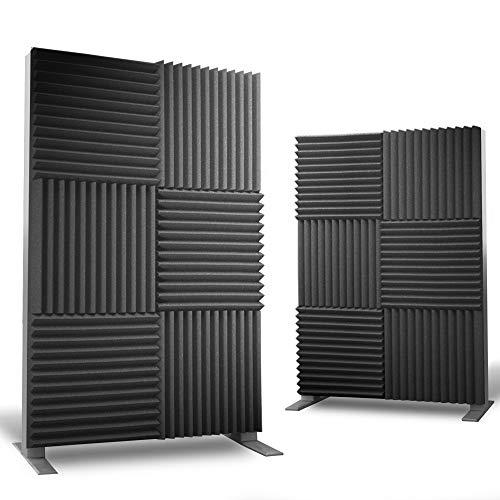 12 pack Acoustic Panels - Acoustic Foam Panels - Sound Proof...