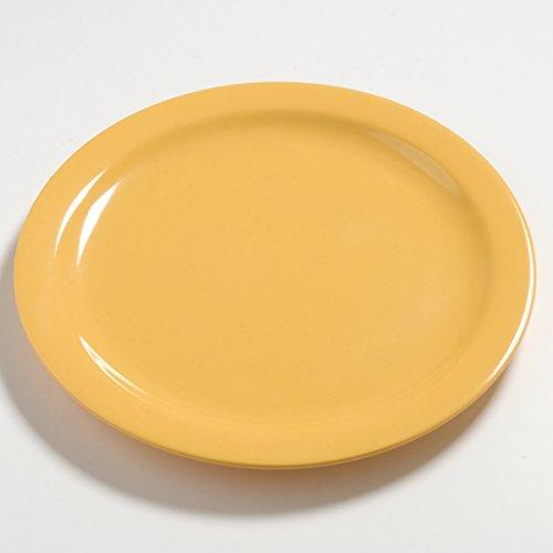 9' Honey (Carlisle 4385222 Dayton Dinner Plate 9'' - Honey Yellow (48 PER CASE))