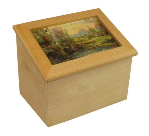 THOMAS KINKADE Cobblestone Evening Wooden