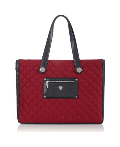 knomo-london-marina-quilted-expandable-laptop-tote-berry