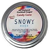 Snowy River Cocktail Sugar Candy Cane (1x4oz Tin)