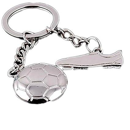 Skyeye Copa del mundo Fútbol Zapatos Llaveros Llavero Bolsos ...