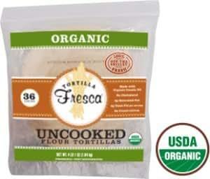 Tortilla Fresca Organic Uncooked Flour Tortillas - (2 Pack