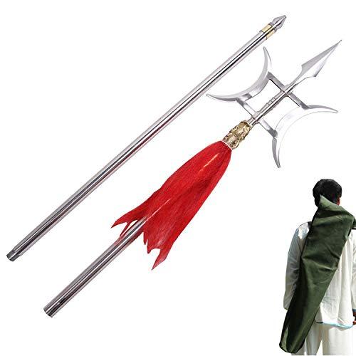 Everythingwushu Wushu Double Sided Halberd Martial Arts Equipment Chinese Wushu Long Weapon
