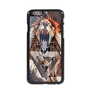 YULIN Funda Trasera - Gráficas/Dibujos/Metálico/Diseño Especial/Otro/Innovador - para iPhone 6 ( Multicolor , Metal/ABS/Plástico )