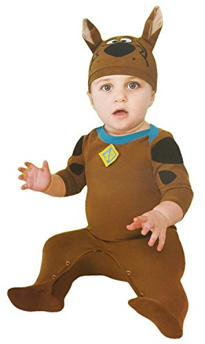 Toddler Scooby Doo Costumes (Scooby-doo Romper with Collar and Hat Costume (12-18 Mo))