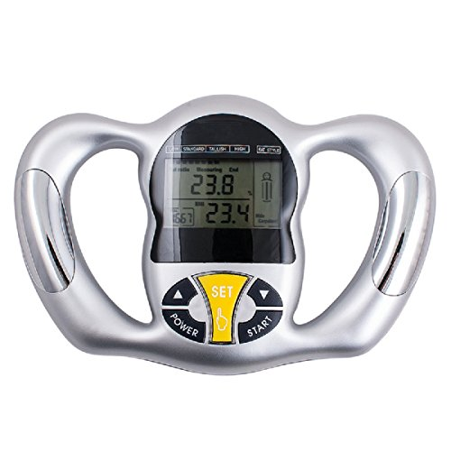 ixaer Fat Loss Monitor-Portable Hand held Body Mass Index BMI Health Fat Analyzer Health Monitor