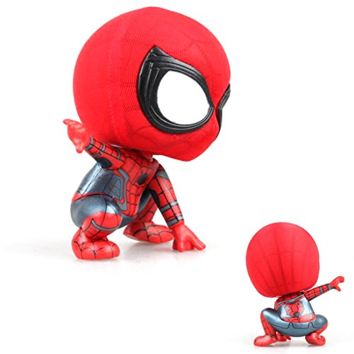 (Bobble Head Spiderman Action Figure for Car Home Decoration (#2))