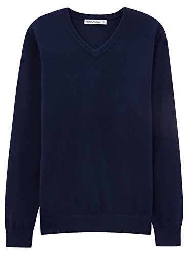 meters-bonwe-mens-casual-v-neck-long-sleeve-solid-color-sweater-deep-blue-xl