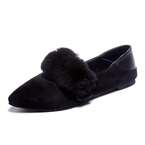 Punkt Leichte Schuhe,Koreanische Version Von Simple Fashion Shoes,Flache Damenschuhe A
