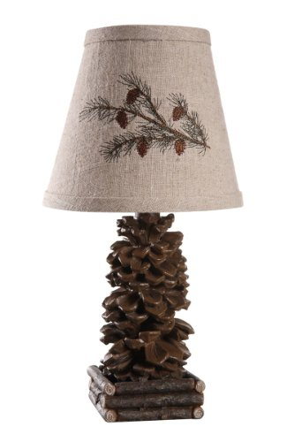AHS Lighting L1562-UP1 Pinecone Accent Lamp, 7