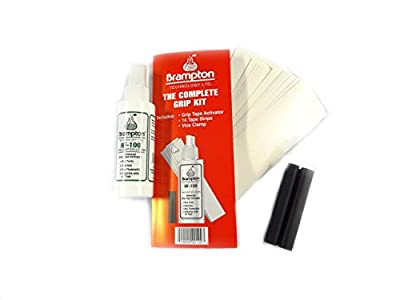 New Brampton - Complete Grip Kit - Tape Solvent Vice Clamp