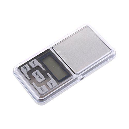 0.01g x 200g Electronic Digital Pocket Jewelry Scale Weight Balance - 9