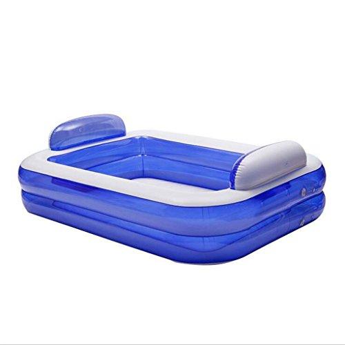 LQQGXL,Bath Inflatable bathtub Large-scale environmental protection Warm insulation temperature Adult children Family bathtub Folding bathtub Inflatable bathtub by LQQGXL