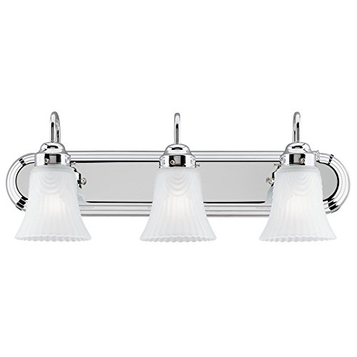 Westinghouse Lighting 6652200 3 Light Bracket Bathroom - Lighting Bathroom Oval Over Mirrors