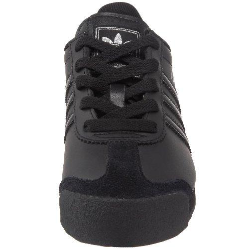 Adidas Originals Samoa J ocasional de la zapatilla de deporte (niño grande), Core Negro / Blanco ru Core Black