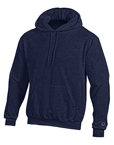 UPC 078715193096, Champion Double Dry Action Fleece Pullover Hood S700, S, Navy Heather