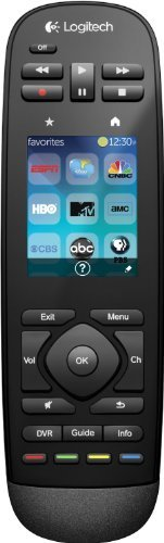 Logitech Harmony Touch Universal Remote with Color Touchscreen - Black (Certified Refurbished)