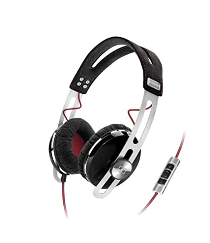 Image Unavailable. Image not available for. Color  Sennheiser Momentum On- Ear Headphone - Black 78d1e8522b